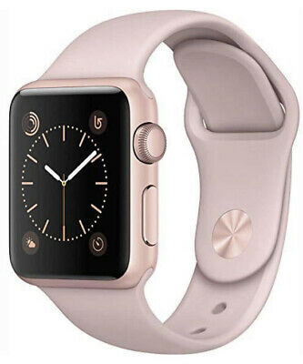 $ CDN65.57 • Buy Apple Watch Sport 38mm Aluminium Rose Gold Case Lavender Sport Band Smart Watch