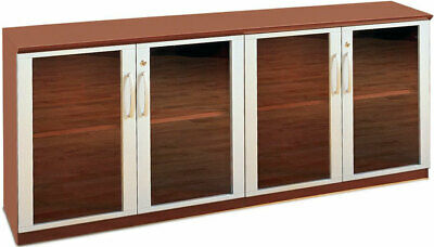 $1550 • Buy CREDENZA CABINET WITH GLASS DOORS, Modern Office Cabinet, Meeting Room Furniture