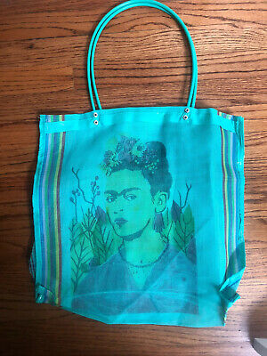 $35 • Buy Frida Kahlo Mesh Shopping Beach Tote Shoulder Bag
