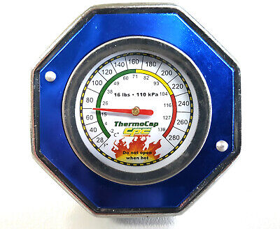 AU22.50 • Buy CPC THERMOCAP RADIATOR CAP - LARGE, 16psi - HOLDEN FALCON VALIANT - BLUE OR RED