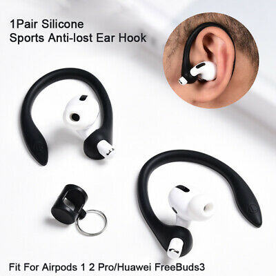 AU3.84 • Buy 1Pair Earhook Holder For AirPods Pro Strap Silicone Sports Anti-lost Ear Hook UK