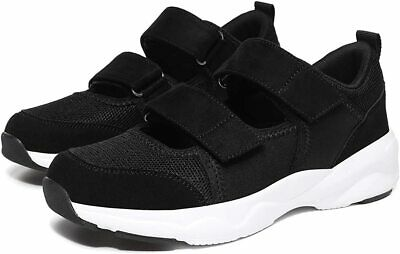 Women Suede Fashion Trainers Shoes Walking Loafer Arch Support Comfort Size 6 UK • 37.95£