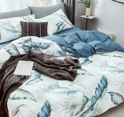 AU41.99 • Buy  [New Arrival!! 40%OFF!!] All Cotton Printed Quilt/Doona/Duvet Cover Set NL2023