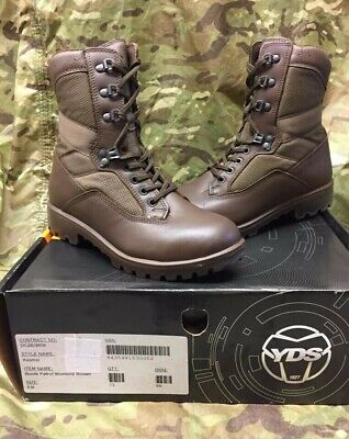 Yds Womens Brown Leather Kestrel Patrol Combat Boots Multiple Sizes Genuine Army • 45£