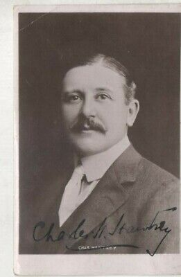 £30 • Buy 6x4 B/w Postcard Photo , Hand Signed Charles Hawtrey 1858-1923 Not Carry On