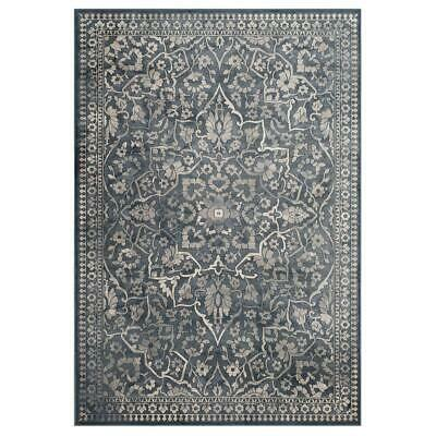 Safavieh Vintage VTG175-7330-3 Floral Viscose Rug Blue / Light Grey 100 X 170cm • 51.49£