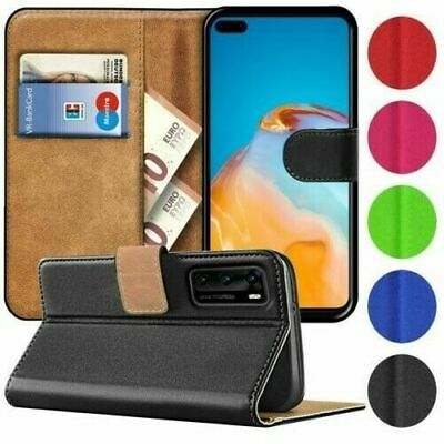 For Huawei P40 Pro P40 Lite Phone Case Leather Flip Shockproof Wallet Book Cover • 2.75£