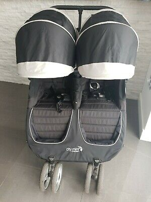 Baby Jogger City Mini Double Pushchair - Black • 180£