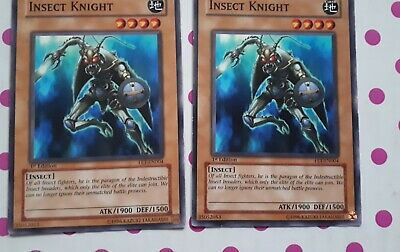 AU2.50 • Buy 2x Yu-gi-oh Cards Insect Knight - FET-EN004 - 1st Edition Flaming Eternity
