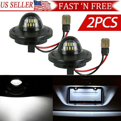 $9.69 • Buy 2 X LED License Plate Light Lamp Assembly Replacement For Ford F150 F250 F350