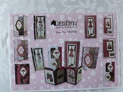 £25 • Buy Kanban Card Making Kit - Shabby Chic - 587941 - Preowned - Complete