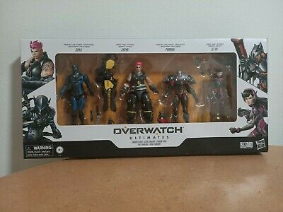 AU50 • Buy Overwatch Ultimates Carbon Series Figure 4 Pack - New Hasbro Blizzard Action Set