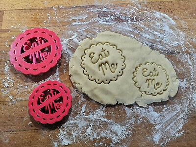 Eat Me Cookie Pastry Biscuit Cutter Icing Fondant Baking - Free Shipping • 4.49£