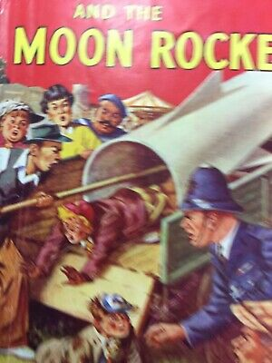 William And The Moon Rocket. Richmal Crompton. 1954. Dustcover  • 50£