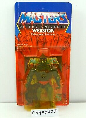 $295 • Buy MOTU, Webstor, Masters Of The Universe, MOC, Carded, Figure, Sealed, He Man