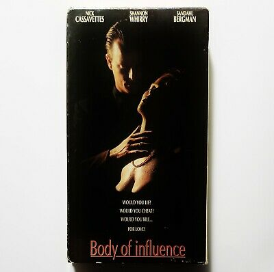 $ CDN25.16 • Buy Body Of Influence (VHS, 1993) *RARE & OOP* Shannon Whirry Erotic Thriller