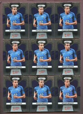 $ CDN1505.48 • Buy LOT OF (18) 2018 Panini Prizm World Cup #80 Kylian Mbappe France RC Rookie