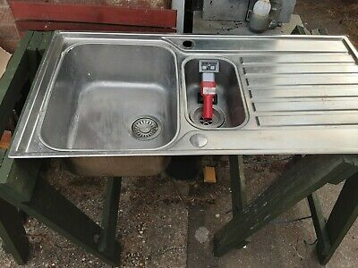 Franke 1.5L Bowl Stainless Steel Kitchen Sink And Waste Kit. 1000 X 510 Mm  • 10£