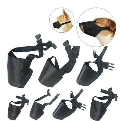 £2.99 • Buy Anti-biting Barking Mouth Cover Adjustable Dog Muzzle For Small Medium Large Pet