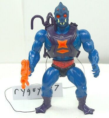 $105 • Buy MOTU, Webstor, Masters Of The Universe, Vintage, Figure, Gun, He-Man, Complete