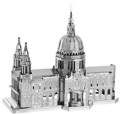 £16.99 • Buy 3d Metal Model Kit Architecture St Pauls Cathedral Complicated Puzzle London Diy
