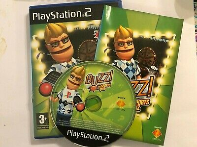 Playstation 2 Ps2 Buzz Buzzer Game The Sports Quiz • 4.99£
