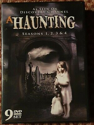 A Haunting Seasons 1 To 4  9 Disc Box Set • 44.99£