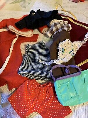 $ CDN33.33 • Buy Mattel Barbie Vintage Clothes Lot Of 9