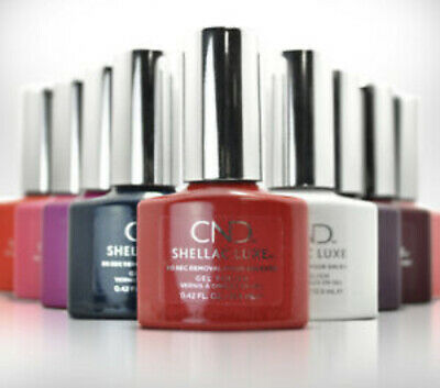 £10 • Buy Cnd Shellac Luxe Gel Polish 2 For £10.00 Free P+p - Buy Min. Of 2 To Get 50% Off