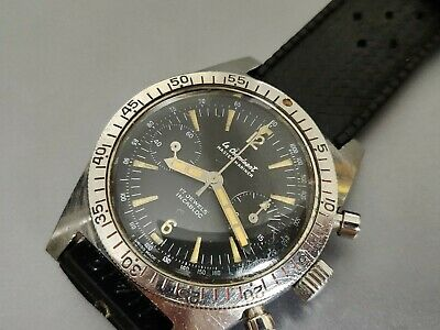 $ CDN1598.75 • Buy Vintage Le Cheminant Master Mariner Chronograph, Valjoux 92, Serviced