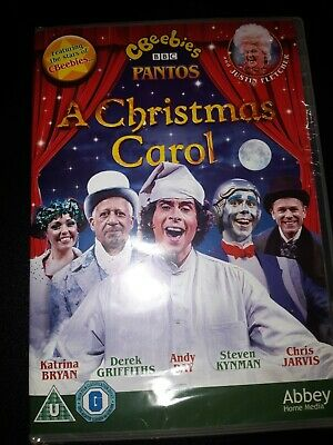 A Christmas Carol-Andy Day Justin Fletcher DVD)New+Sealed Cbeebies Xmas Panto • 1.10£