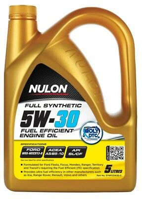 AU51 • Buy Nulon Full Synthetic 5W-30 5 Litre FUEL SAVING ENGINE OIL SYNFE5W30-5