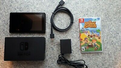 $ CDN430 • Buy NintendoSwitch HAC-001 32GB, Accessories And Animal Crossing Game