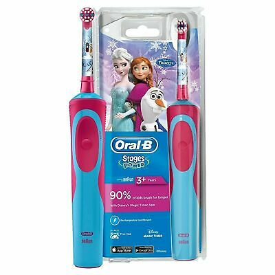 AU54.57 • Buy Oral-B Stages Power Kids Frozen Electric Powered Rechargeable Toothbrush 3+