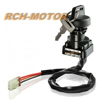$9.99 • Buy New Ignition Key Switch For Arctic Cat ATV 250 300 375 400 500 Replaces 3430-040