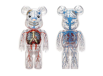 $999.99 • Buy Dr. Romanelli 400% Bearbrick Be@rbrick 'DrX  Halloween 2008 Medicom Rare Limited