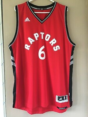 $ CDN49.99 • Buy NBA Replica Cory Joseph Toronto Raptors Jersey Adidas Revolution 30 Road Red XL