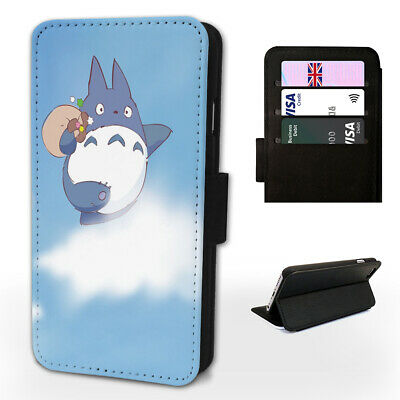 TOTORO IN THE SKY HAVING FUN - Flip Phone Case Cover- Fits Iphone / Samsung • 9.98£