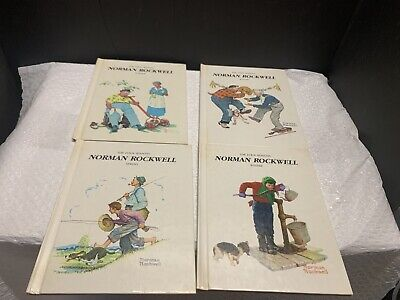 $ CDN19.10 • Buy Norman Rockwell The Four Seasons Gallery Books Set Of 4