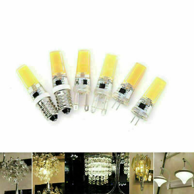 AU2.83 • Buy G4 G9 E14 9W COB SMD LED 220V Silicone Crystal Light Lamp Bulb Dimmable Tw