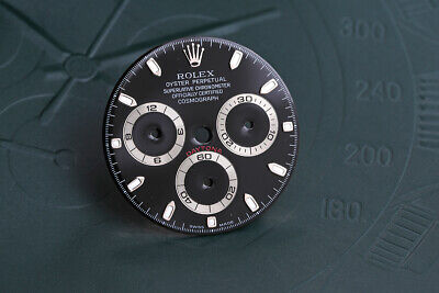 $ CDN1651.81 • Buy Rolex Black Daytona Dial For Model 116520 Super Luminova FCD10673