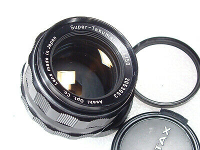 $ CDN86.45 • Buy Minty M42 Super Takumar 50mm F/1.4 Lens