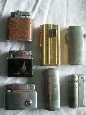 AU15 • Buy 7 Different Cigarette Lighters Rca= A Yacht=tommy= All Different Plus Others