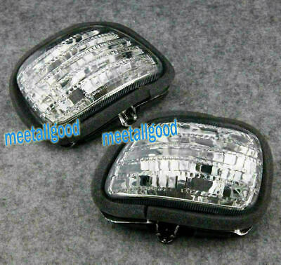 Front Turn Signals Indicator Lens For Honda GL1800 GOLDWING 2001-2017 2009 New • 21.83£
