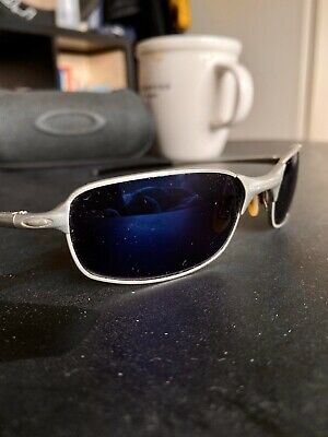 AU150 • Buy Oakley A Wire Sunnies - Polarized Iridium Blue - Rare/vintage