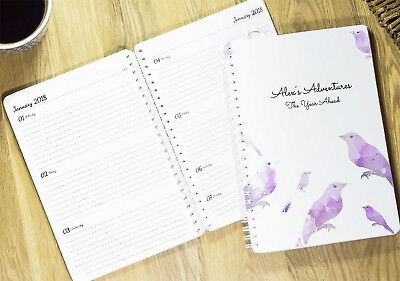 Personalised Diary 2020 - 2021 | Week-to-View | Academic Year/Start Any Month  • 7.95£