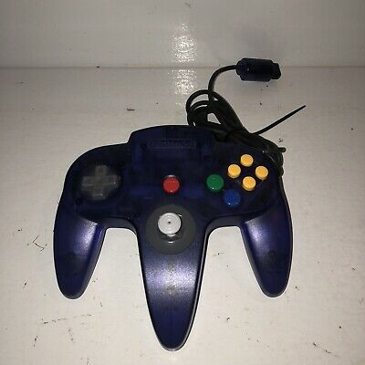 $ CDN86.44 • Buy EX COND Nintendo 64 Grape Purple Controller Authentic OEM Funtastic N64 TESTED