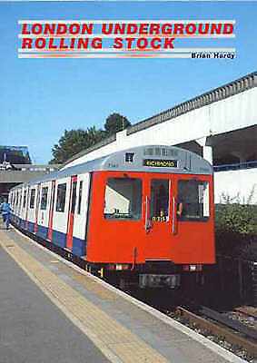 London Underground Rolling Stock Hardy, Brian Excellent Book • 10.71£