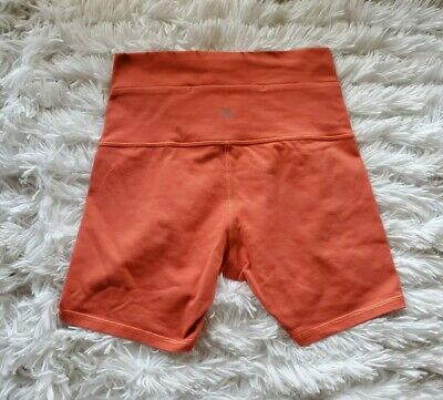 $ CDN56.24 • Buy Lululemon Wunder Under Shorts  5   Coral Orange  Sz 6   EUC!!
