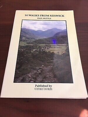 14 Walks From Keswick By Paul Buttle • 4.25£